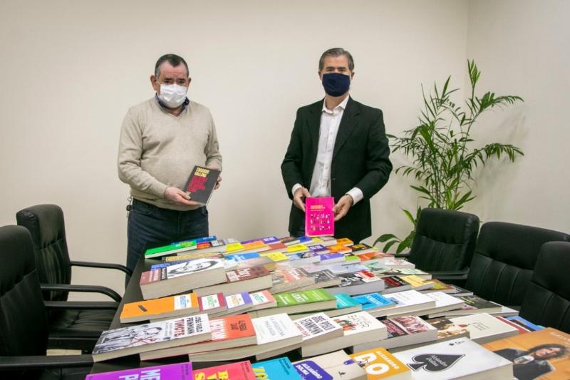 La Caja de Jubilaciones pone a disposición de los municipales cientos de libros de lectura